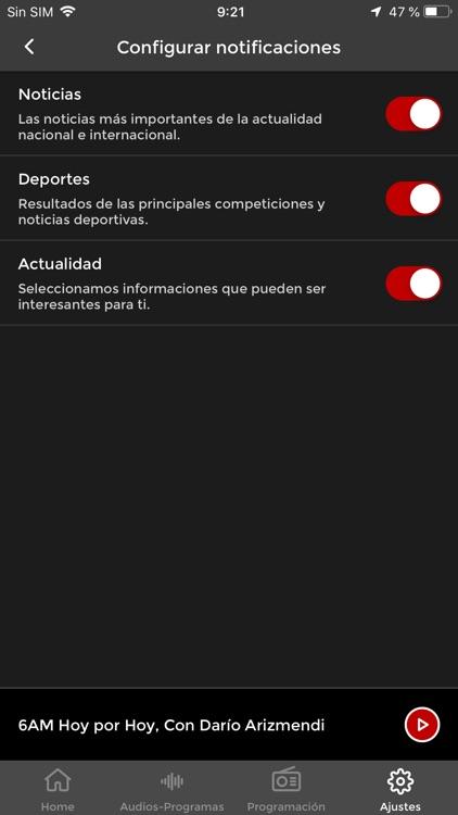 Caracol Radio screenshot-4