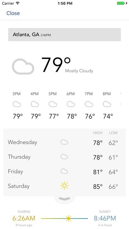 Atlanta Weather - CBS46 WGCL