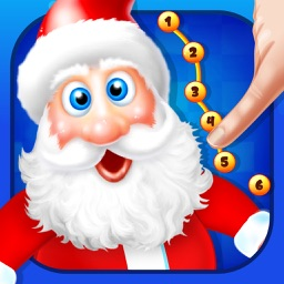 Connect Dots Christmas Game