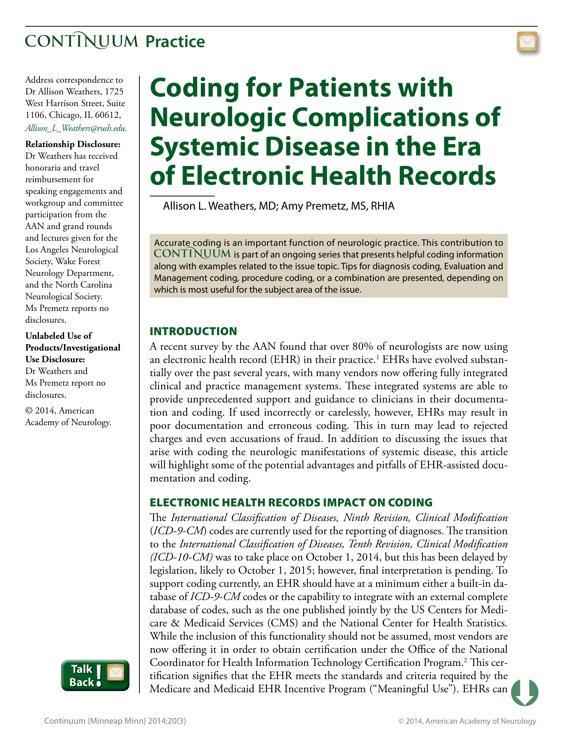 Continuum: Lifelong Learning in Neurology® screenshot-3