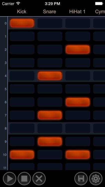Drum Tracker