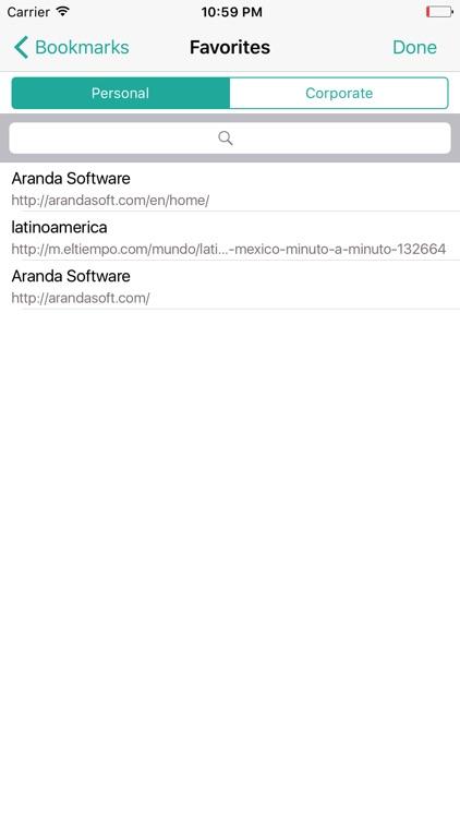 Aranda Secure Web Browser screenshot-3