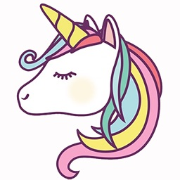 Unicorns Emoji and Stickers