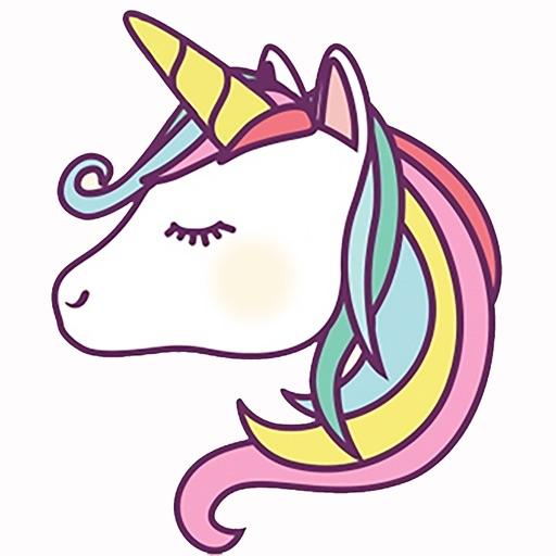 Unicorns Emoji and Stickers