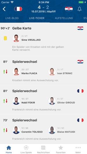 FIFA - Fussball Nachrichten Screenshot