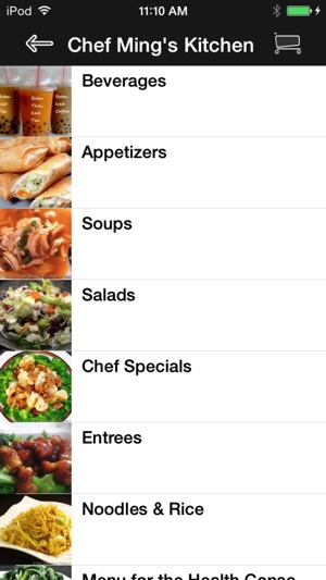 Chef Ming's Kitchen on the App Store