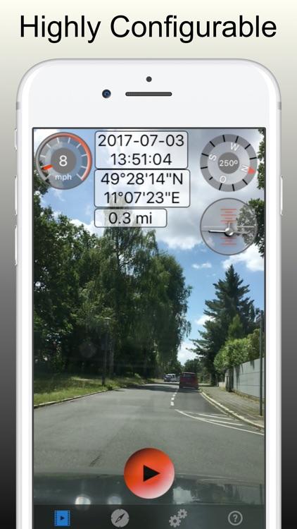 Dashcam Pro - Video Camcorder screenshot-4