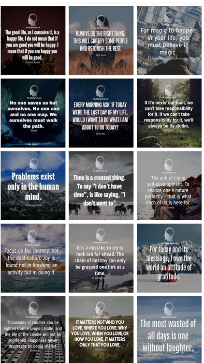 Mindful Quote Sticker Pack