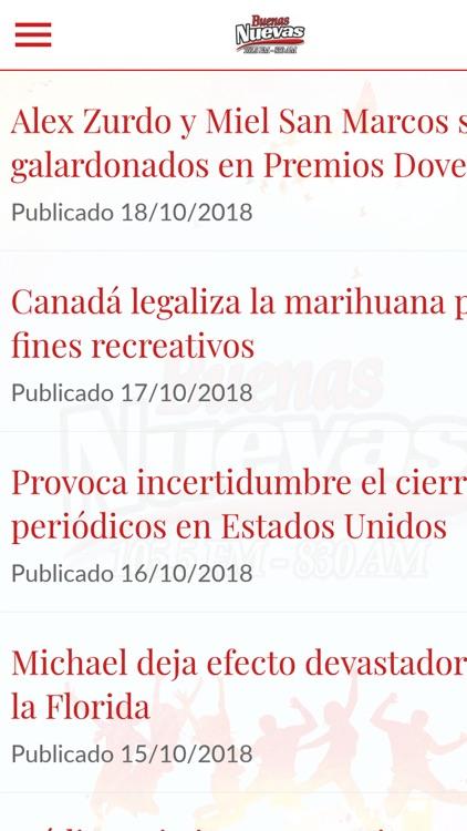 Buenas Nuevas 105.5 FM screenshot-4