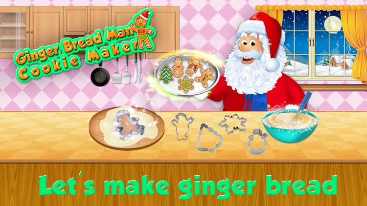 Ginger Bread Cookie Maker