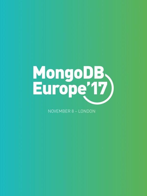 MongoDB Europe screenshot 3