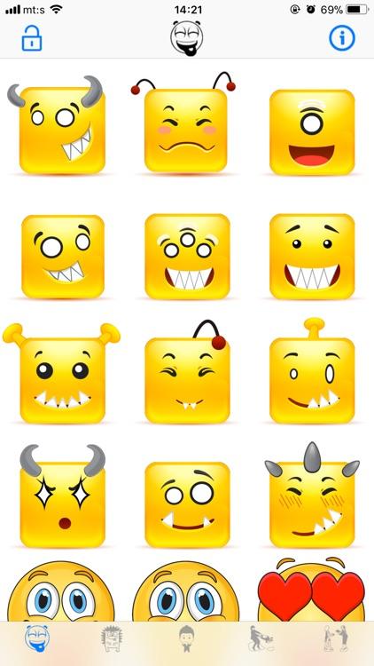 Animated Emojis & Stickers