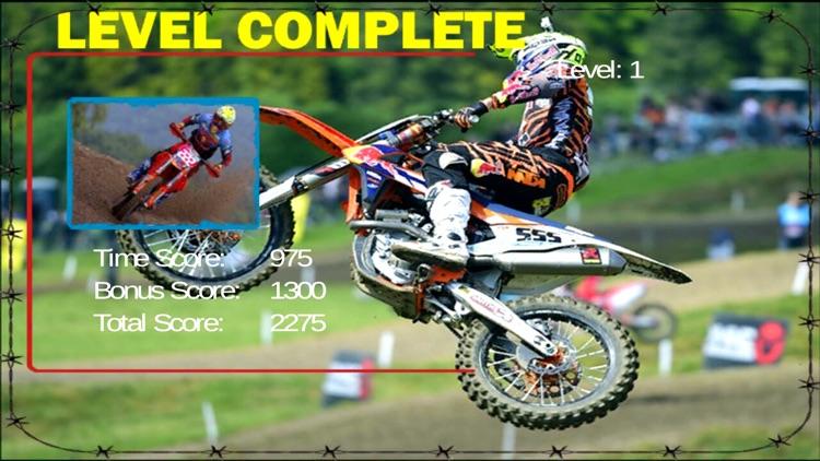 Dirt Motor bike Racing 2D screenshot-3