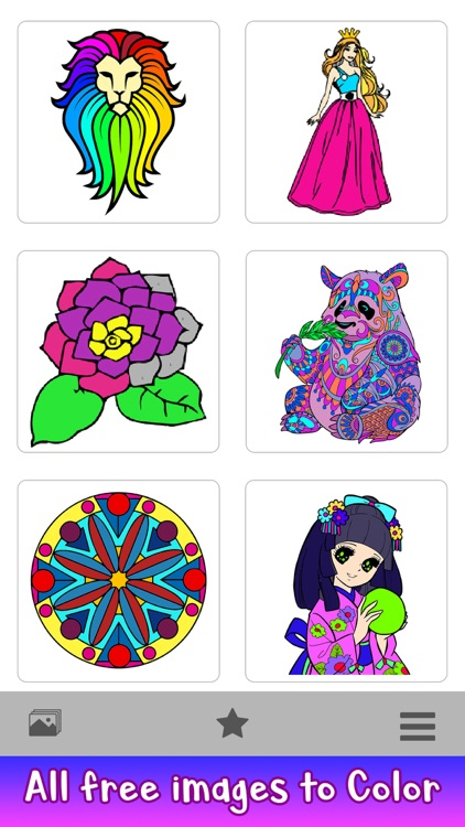 Adult Coloring by Number Book