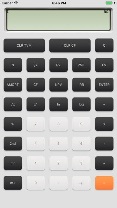 Screenshot #1 for financial calculator一