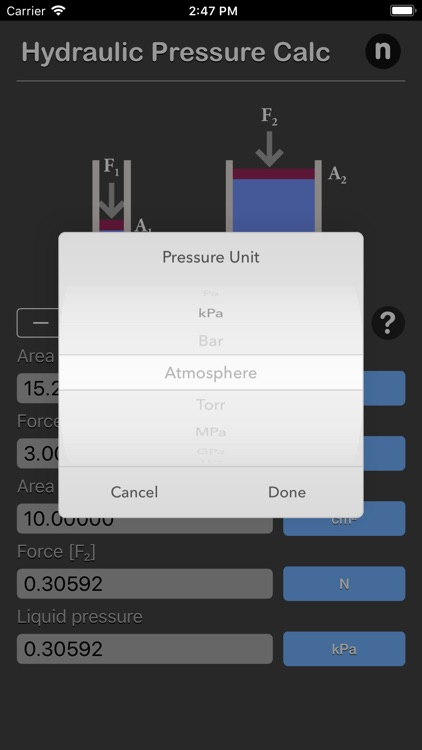 Hydraulic Pressure Calculator screenshot-4