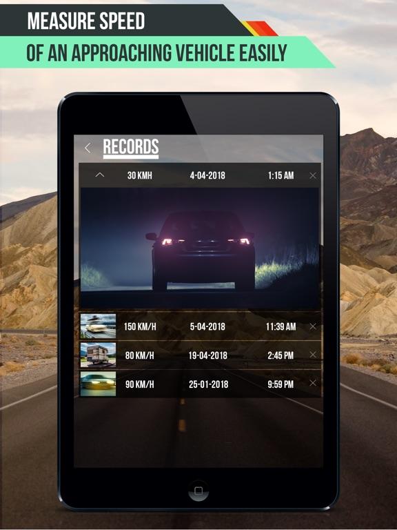 Speed Radar Gun PRO Screenshots