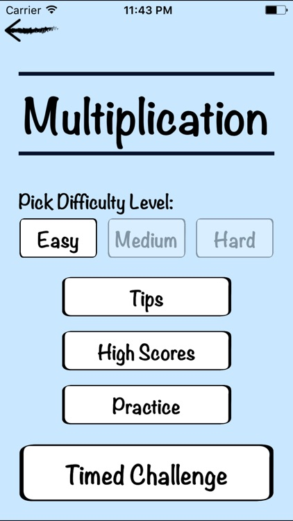 Mental Math Cards Challenge screenshot-4