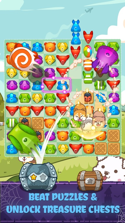 Fancy Dogs - Puzzle & Puppies screenshot-3