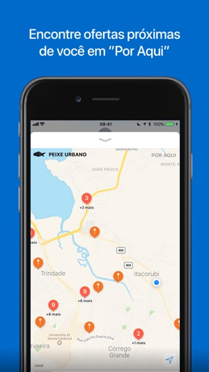 Peixe Urbano Ofertas e Cupons Screenshot