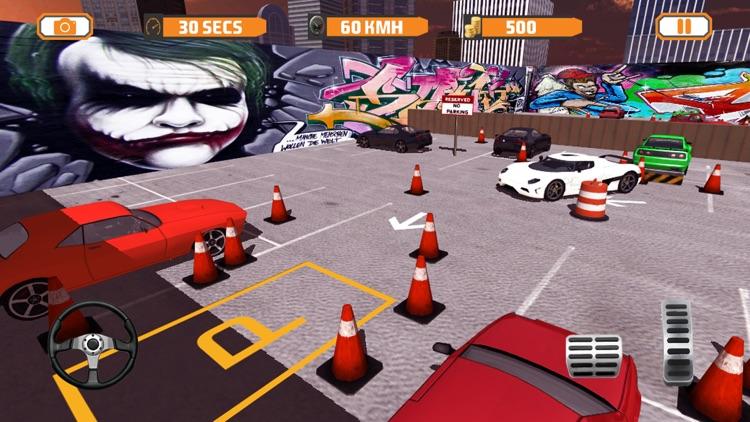 Real City Dr Parking Simulator 2017 screenshot-3