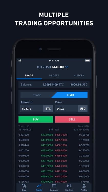 CEX.IO Bitcoin Exchange screenshot-4