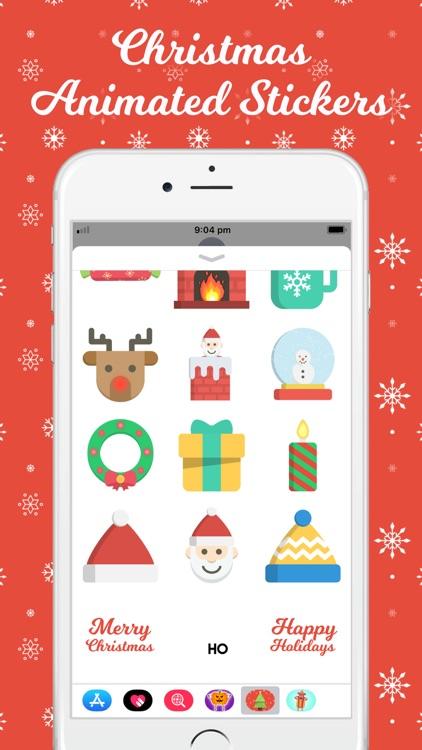 Christmas Animated Stickers screenshot-3