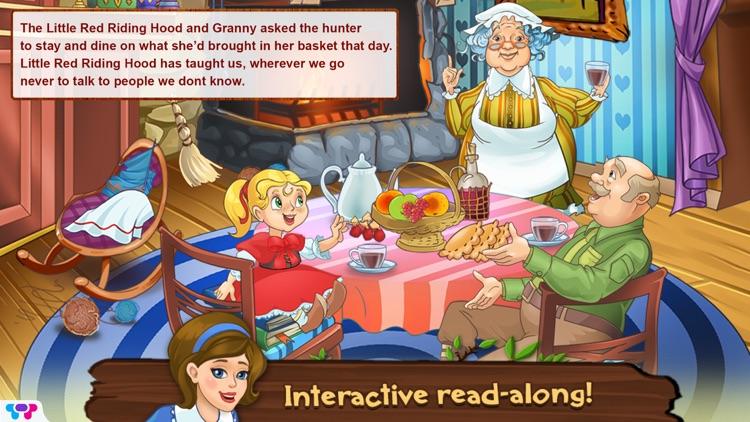 Little Red Riding Hood Toybook screenshot-4