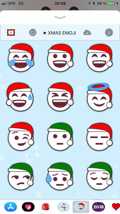 Christmas Emoji • Stickers