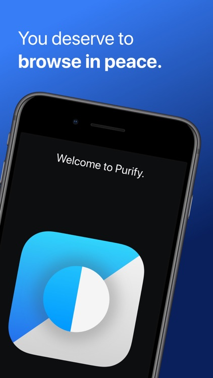 Purify: Block Ads and Tracking screenshot-0