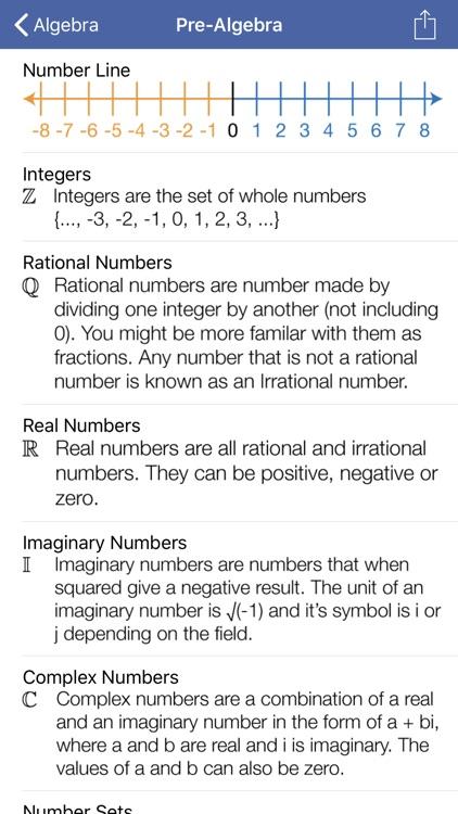Math Ref Lite screenshot-3