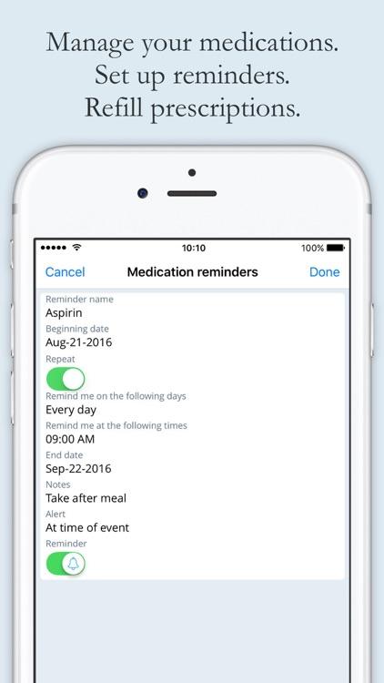 myEmerg - health messenger screenshot-4