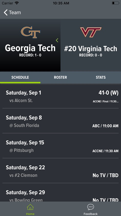 Virginia Tech Football screenshot-7