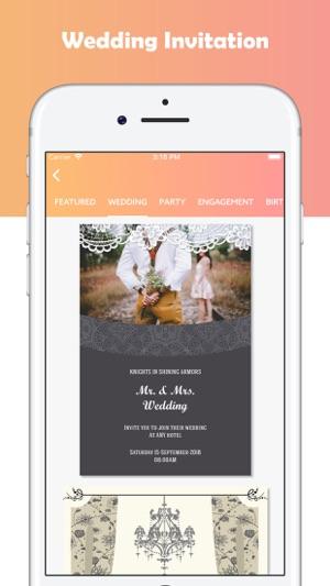 Invitation Card Maker Ecards On The App Store