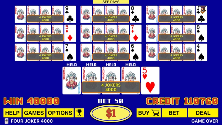 The Classic Video Poker screenshot-3