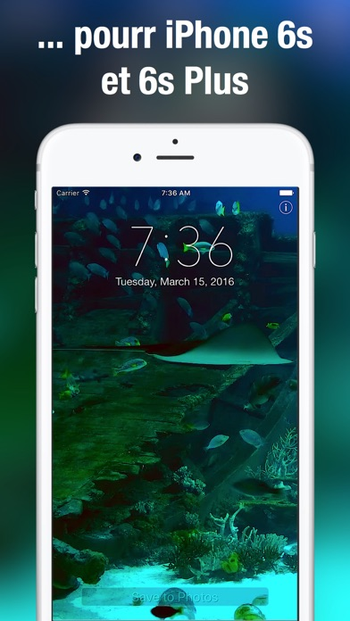 download Aquarium Fond d'écran animé apps 2
