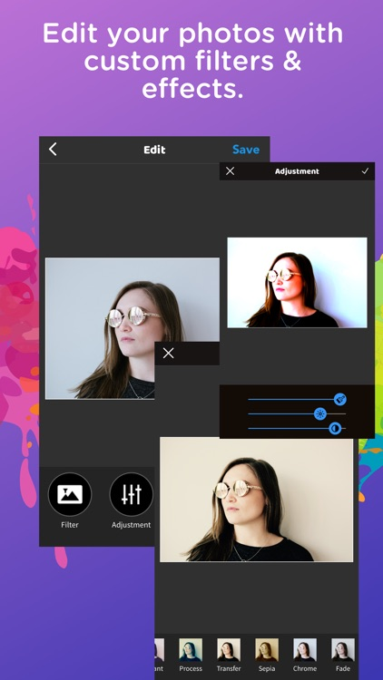 Pic Grid Photo Collage Editor