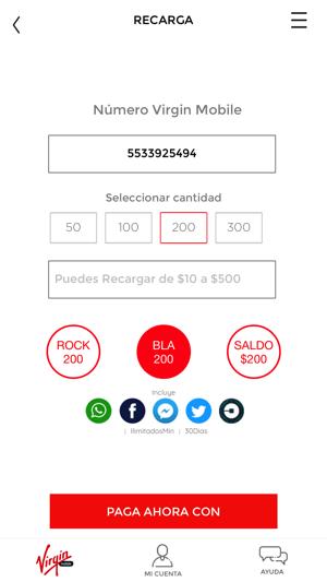Virgin Mobile Mexico im App Store