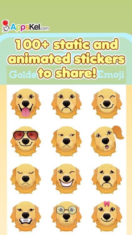 Golden Retriever Emoji Pro