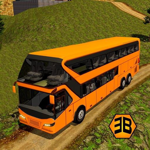 Offroad driving bus 2017 - tourist bus parking iOS App