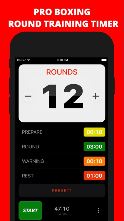 Boxing Timer Pro screenshot-0
