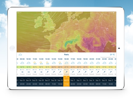 Ventusky: Weather Maps screenshot 6