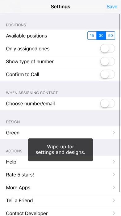 Quick Fav Dial Screenshots