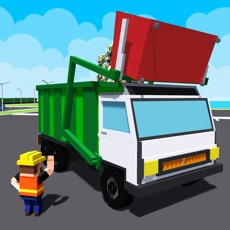 Activities of City Garbage Truck Recycle sim