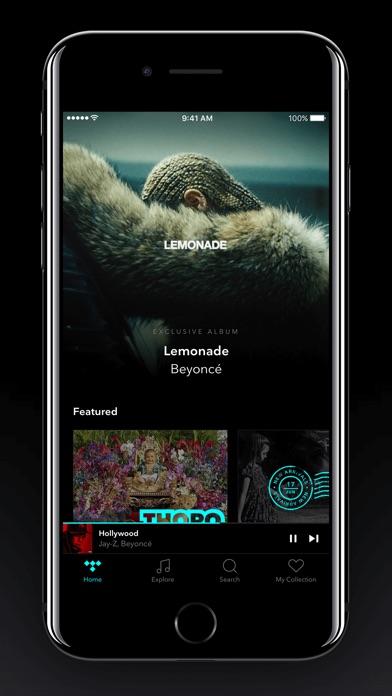 TIDAL app image
