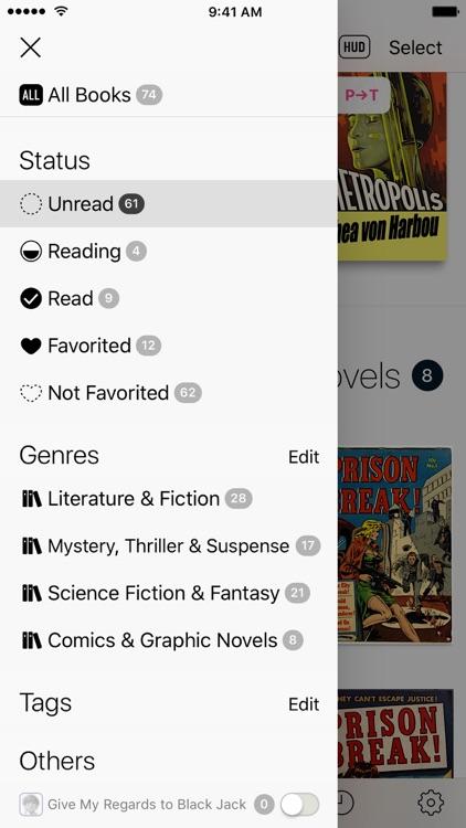 Booklover - comic/ebook reader screenshot-4
