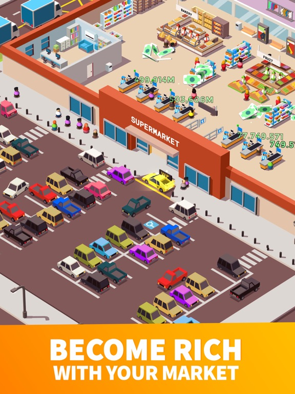 Screenshot #2 for Idle Supermarket Tycoon - Shop