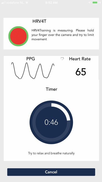 HRV4Training screenshot-1
