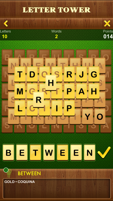 Screenshot #3 pour Letter Tower