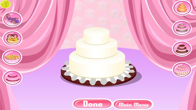 Decoration Wedding Cake Game On The App Store